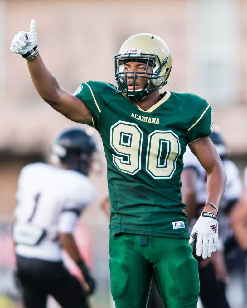 Photos: Preps football from across Acadiana - Northside, Acadiana High, Teurlings and more _lowres