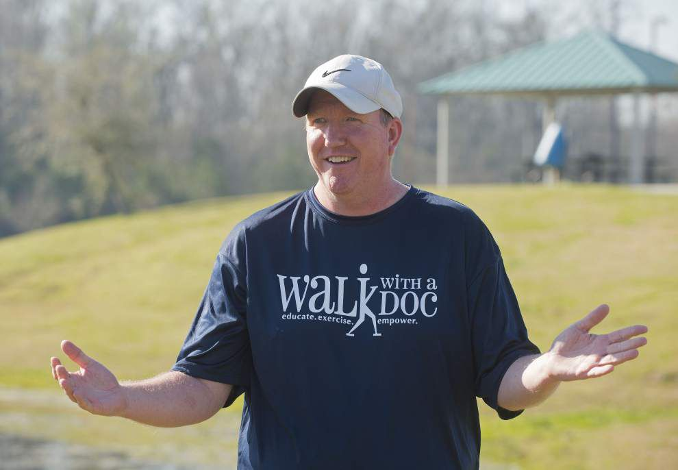Walk with a Doc program lets walkers chat with doctors without an appointment _lowres