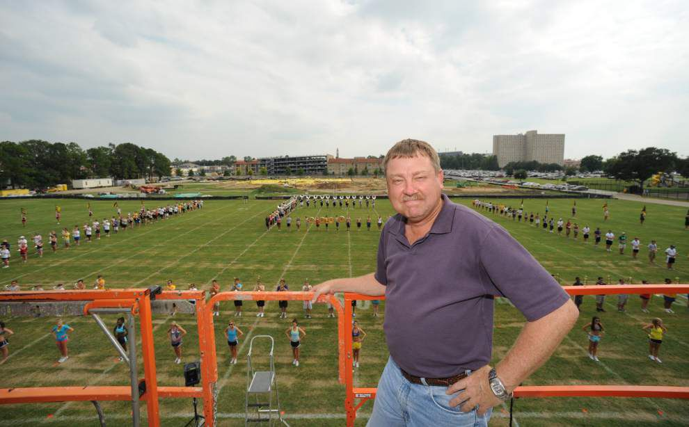 LSU band director Roy King didn't plan on a life in music; now it's 'the reason I get out of bed every morning' _lowres