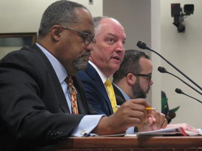 Edwards testifies for equal pay