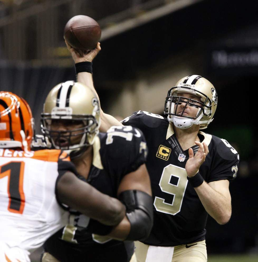 As expected, the Saints graded out poorly in loss to the Cincinnati Bengals _lowres