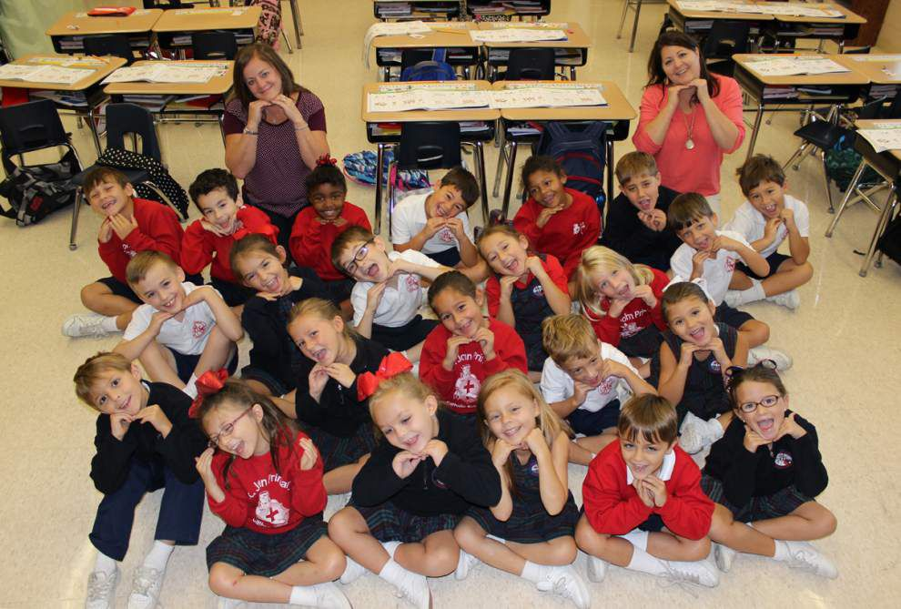 Classroom Spotlight: St. John Primary School first grade _lowres
