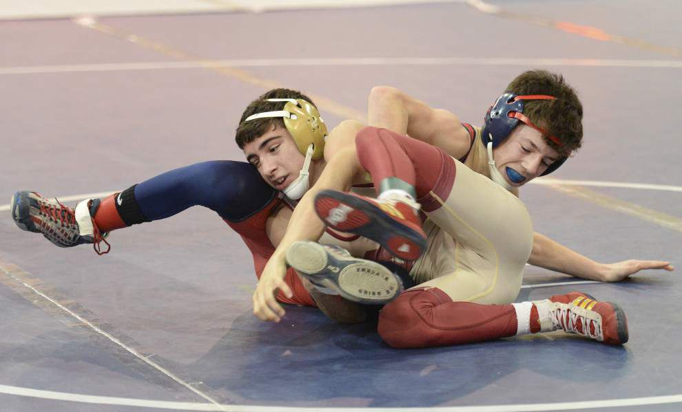 Brother Martin runs away with Louisiana Classic wrestling title, despite just one individual title _lowres