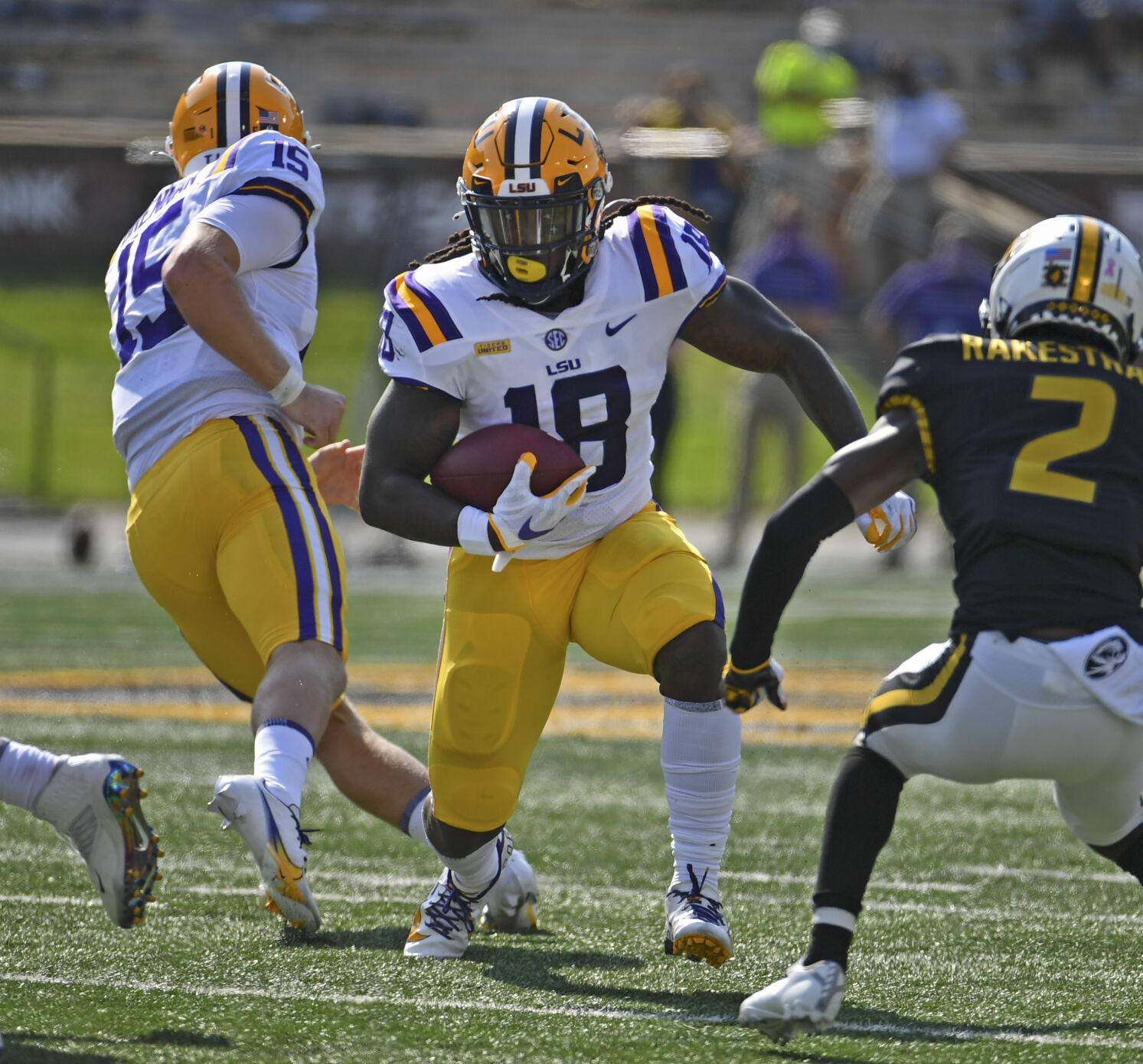 Former LSU running back Chris Curry announces transfer to Utah ...