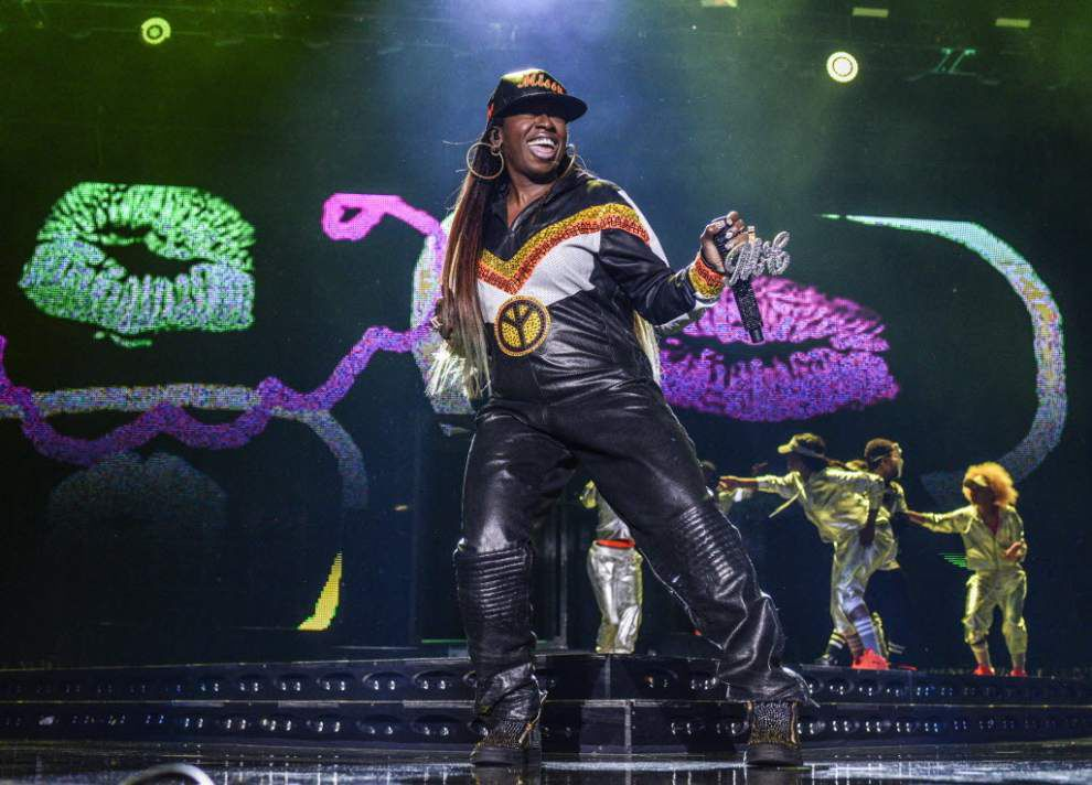 Essence apologizes to Missy Elliott for cutting off her show at the Essence Festival on the Fourth of July _lowres