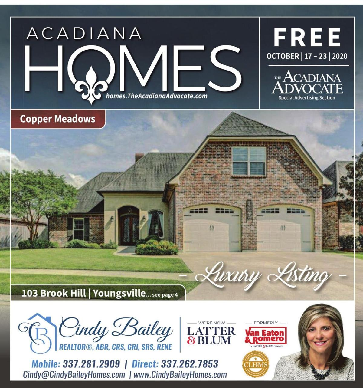 Acadiana Homes October 17, 2020