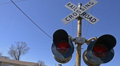 railroad crossing stock