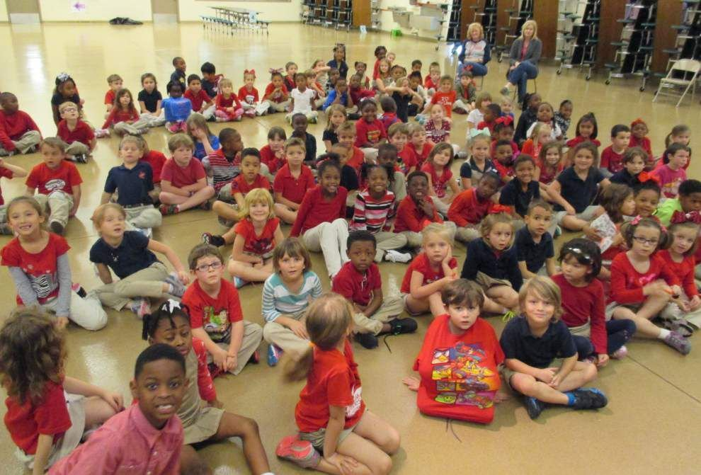 Northwestern Elementary pupils have heart _lowres
