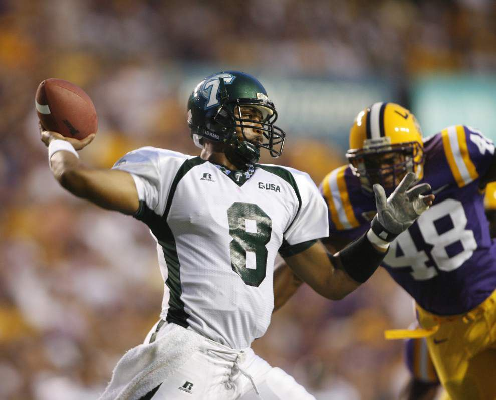 An unprecedented honor after a 'harrowing experience': As they enter Tulane's sports Hall of Fame, athletes affected by Hurricane Katrina take a look back _lowres