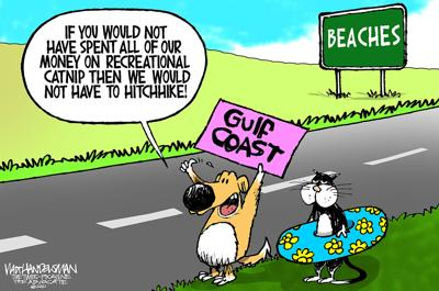Check out these hilarious punchlines in Walt Handelsman's latest Cartoon Caption Contest!