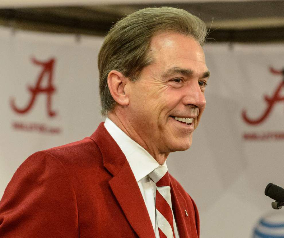 "Video: Saban's advice for Sunseri - ""play fast"" _lowres"