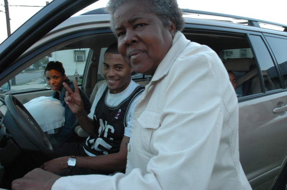 L. Kasimu Harris challenges recollection of life after Katrina _lowres