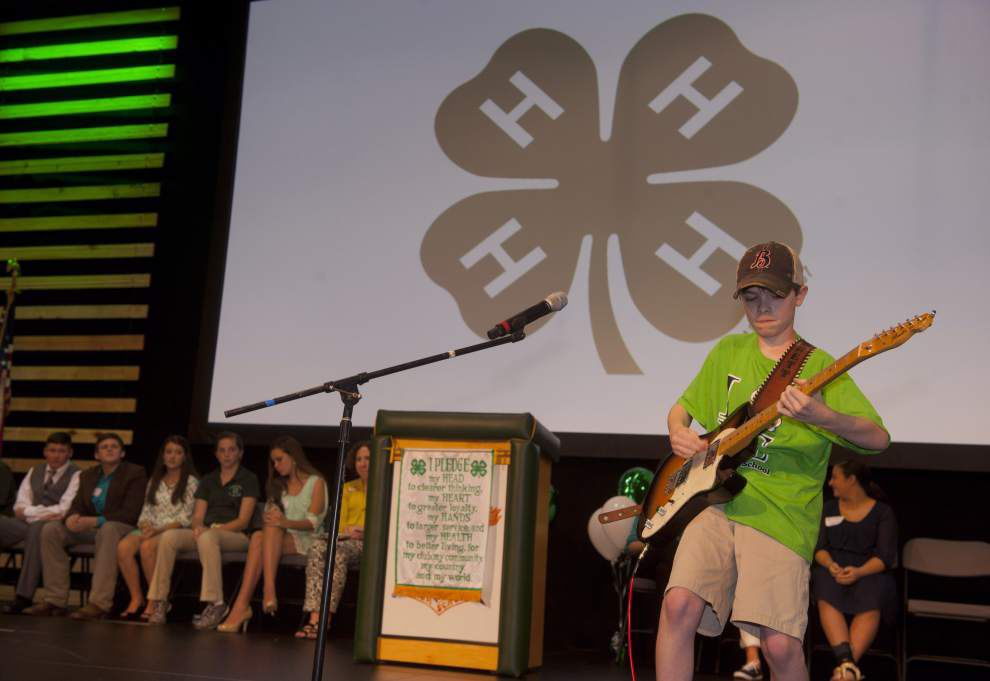 Livingston 4-H students make noise in annual Achievement Day at Walker High _lowres