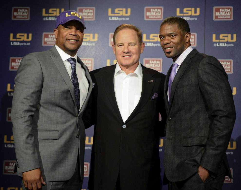 'We're going to change spring': LSU coach Les Miles says Tigers to alter drills, visit other schools _lowres