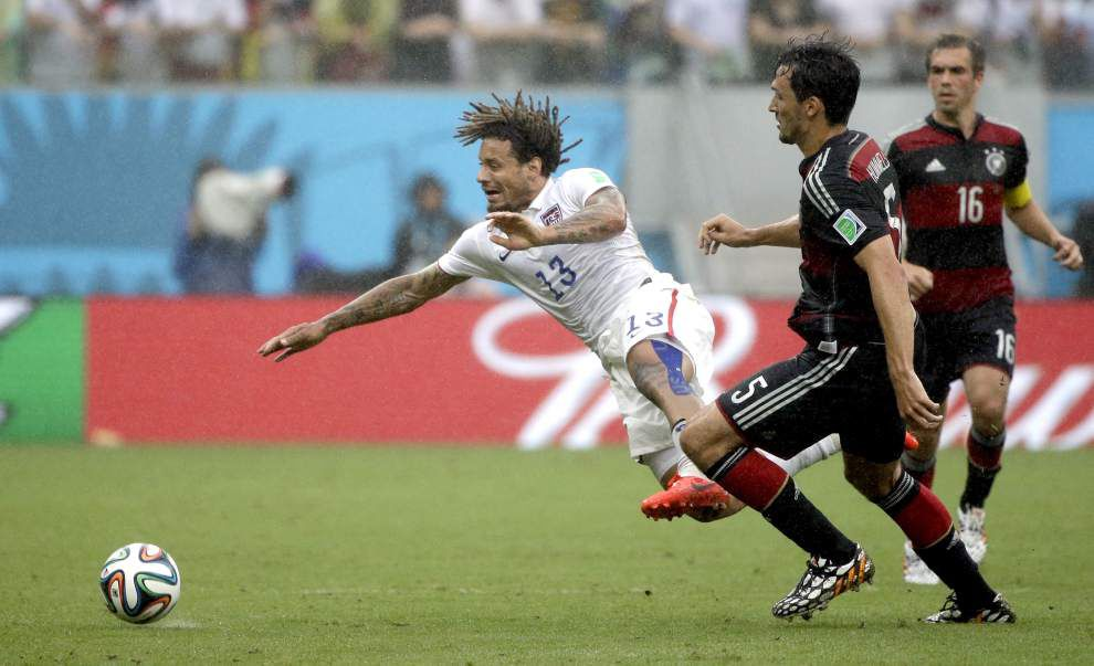 U.S. loses to Germany 1-0, but still advances to next round of World Cup _lowres