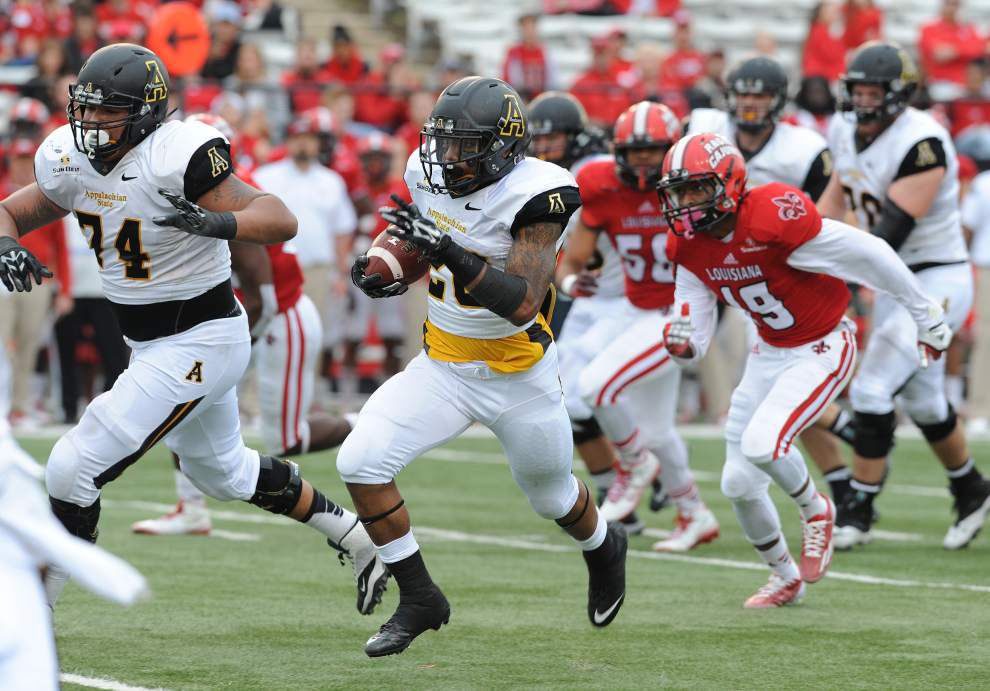 Photos: UL Lafayette falls to App State _lowres