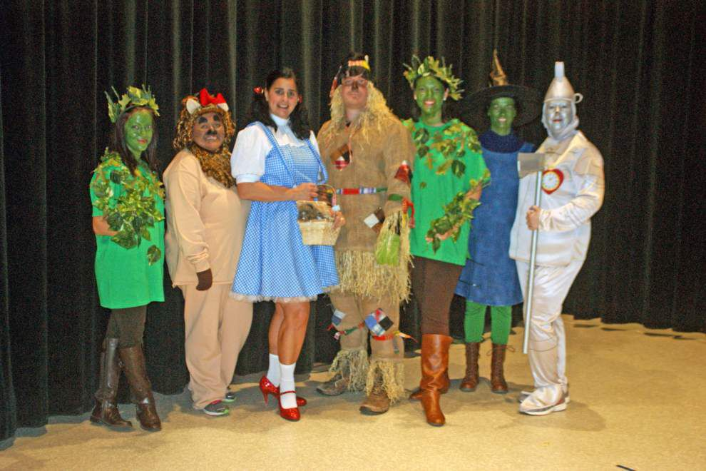 St. Thomas More staff, faculty entertain students _lowres
