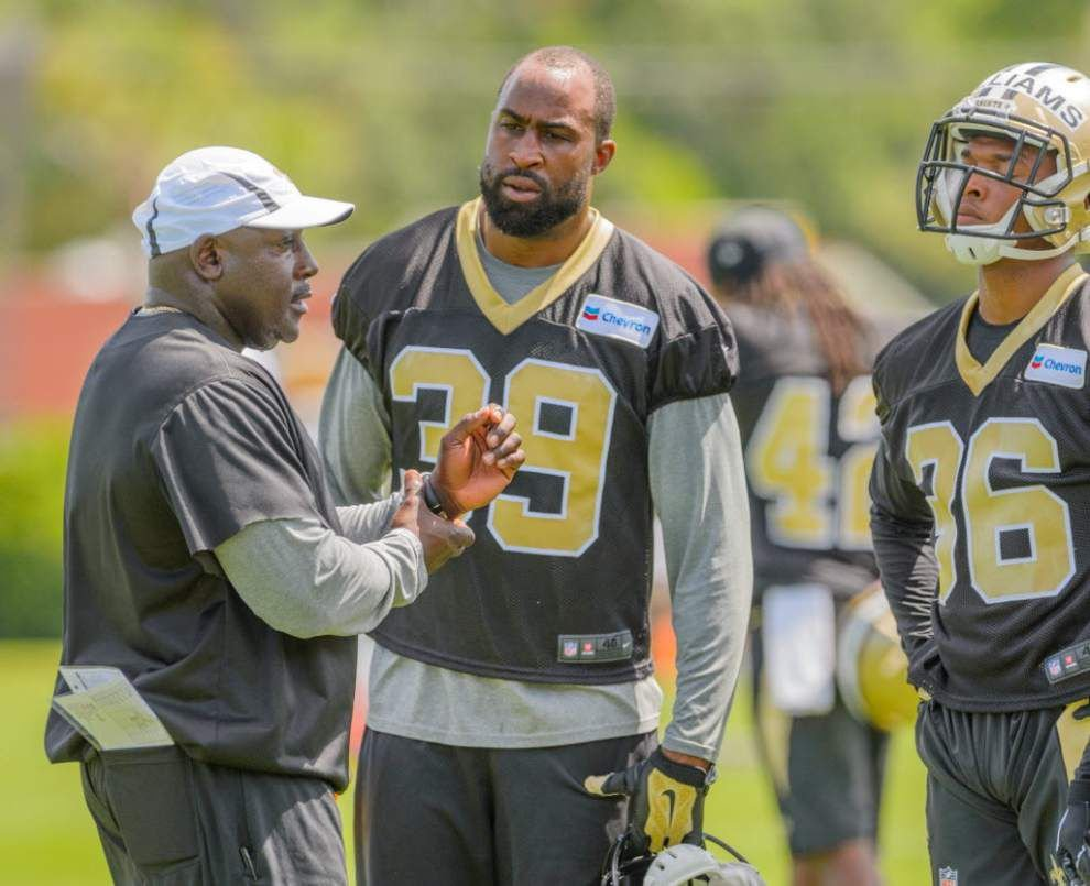 Notes and observations from the Saints' OTA on Thursday _lowres