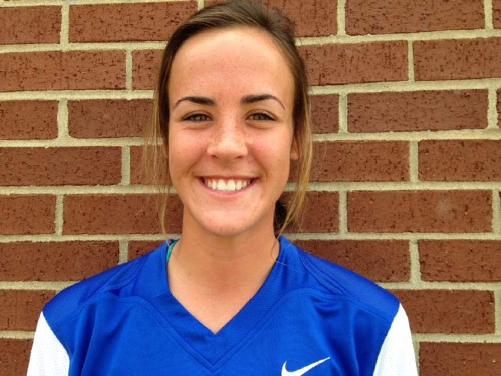 Mount Carmel's Alaina Guarino has standout effort for East softball all-stars _lowres