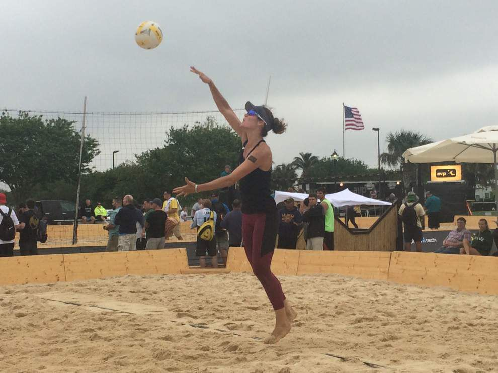 Former LSU volleyball standout Angela Bensend returns to Louisiana _lowres