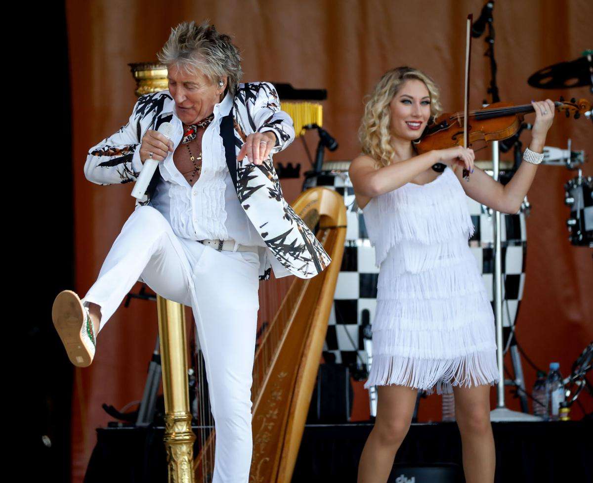 Acura New Orleans >> 2018 New Orleans Jazz Fest, Day 2: Rod Stewart was his cheeky self, Fats Domino got a fitting ...