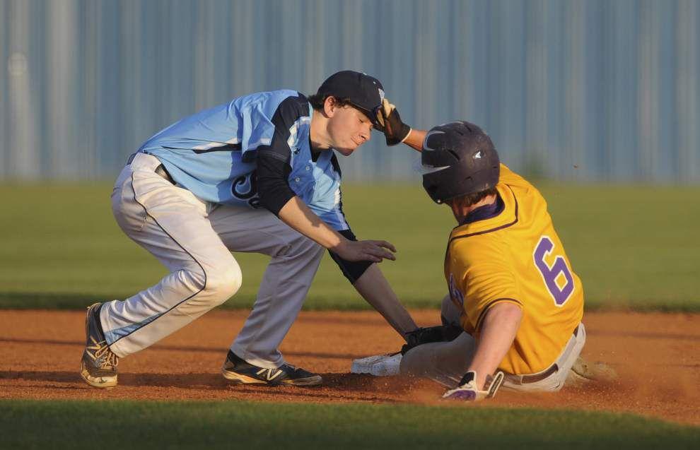 Baseball: Aaron Whipp's power surge lifts Opelousas Catholic past Westminster Christian 18-6 _lowres