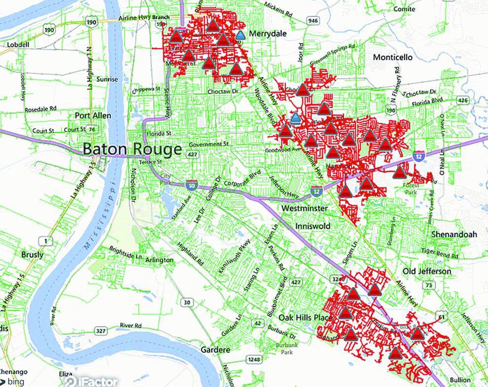 Entergy: Equipment woes cause of Wednesday power outage