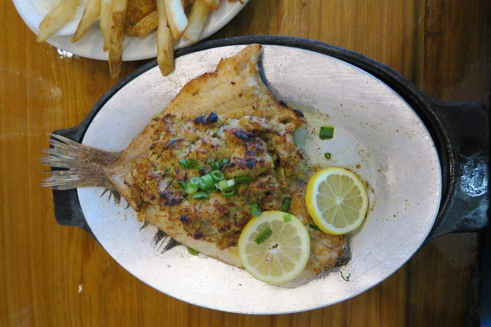 Following the flounder: why this New Orleans seafood classic enjoys a cult following, bones and all _lowres