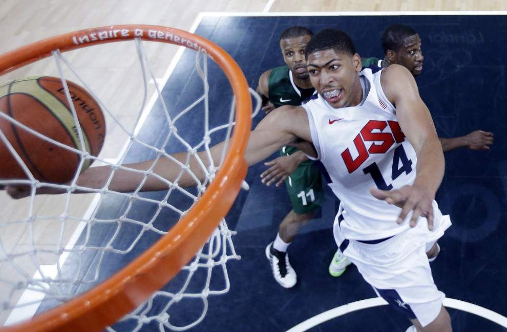 Anthony Davis looking for more growth with USA team _lowres