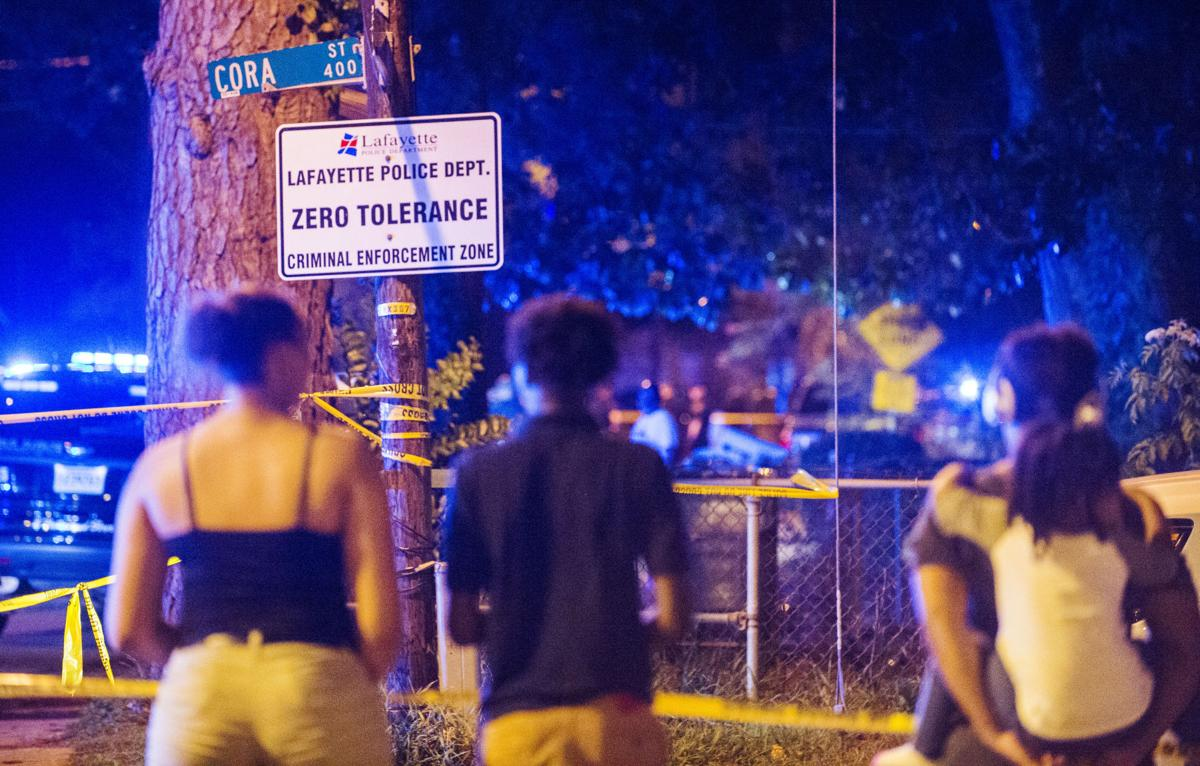 One injured in Lafayette police shooting Wednesday night   Crime