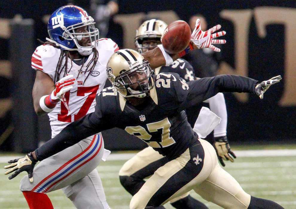 Saints cornerback Damian Swann likely out for season after suffering third concussion _lowres