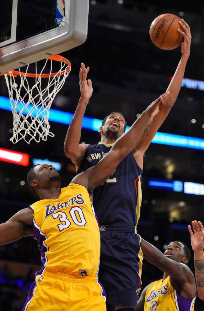 Lou Williams leads Lakers past Pelicans 95-91 _lowres