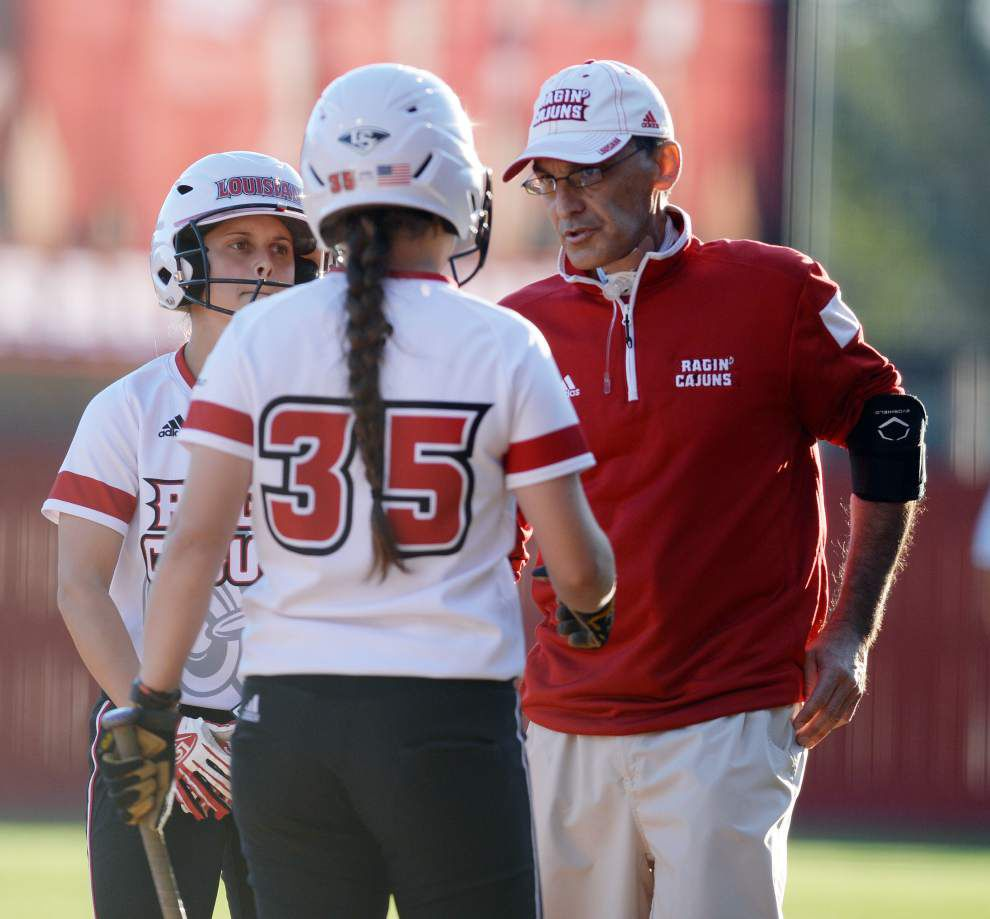 A stiff early test: Cajuns open Sun Belt softball play against South Alabama _lowres