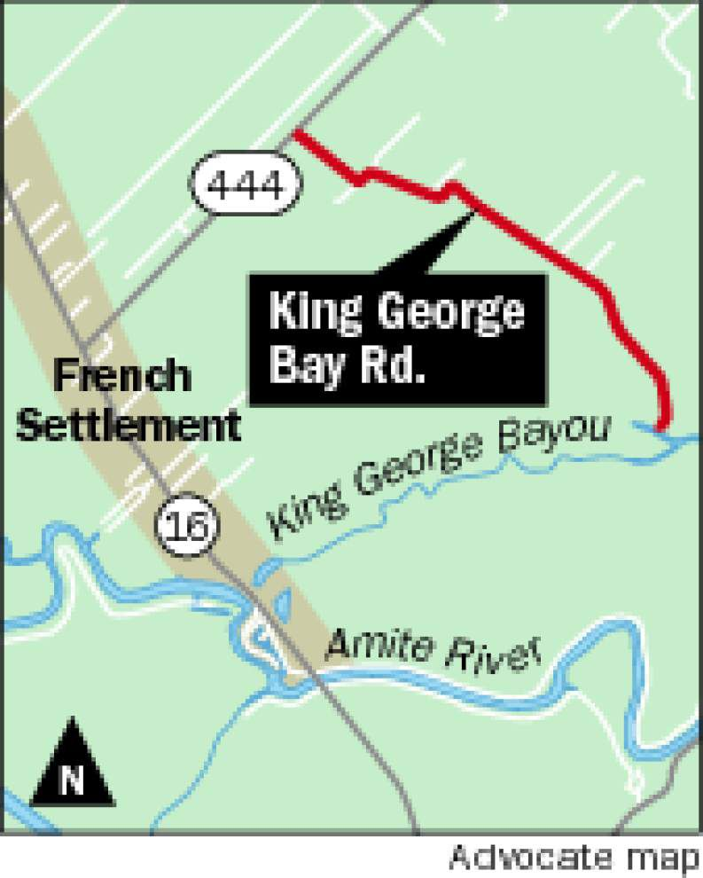Judge: evidence conflicting on King George Bay Road, so matter will have to go to trial in Livingston Parish _lowres