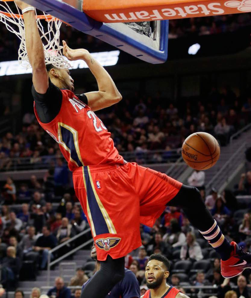 With a 59-point game under his belt, Anthony Davis has NBA buzzing _lowres