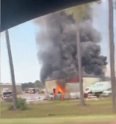 denham springs fire