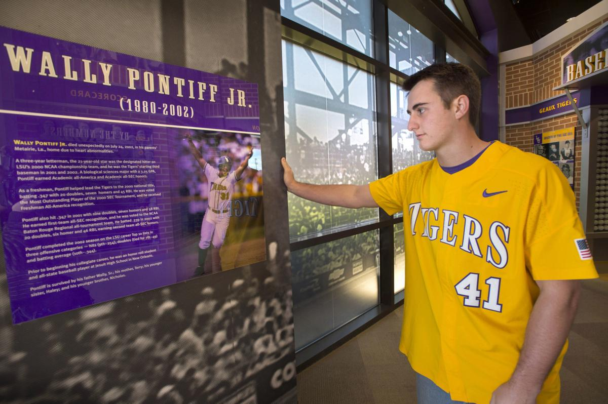 Caleb Gilbert never met Wally Pontiff -- but the LSU legend has always inspired him