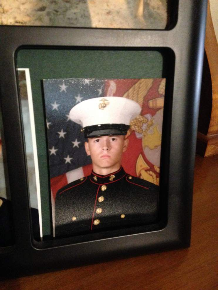 Family mourns loss of Marine from Denham Springs killed during routine training exercise _lowres