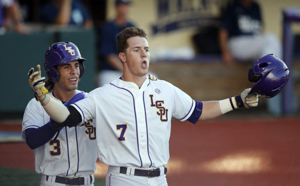 Greg Deichmann to return to LSU for junior season, could be 'best power hitter in the country' _lowres