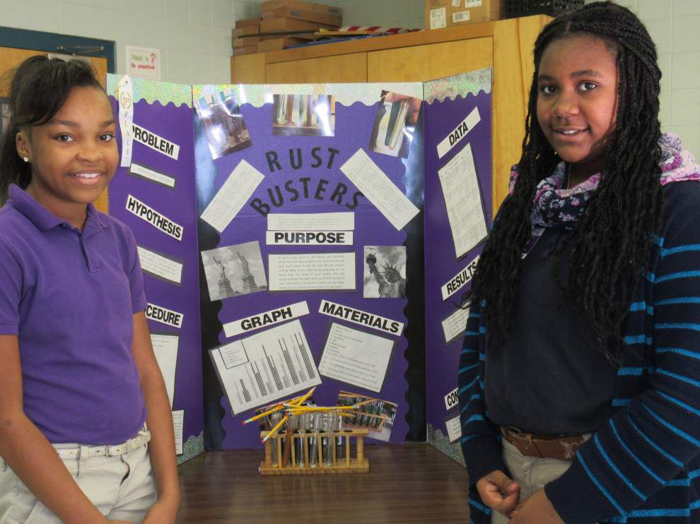 Hammond Westside holds science fair _lowres