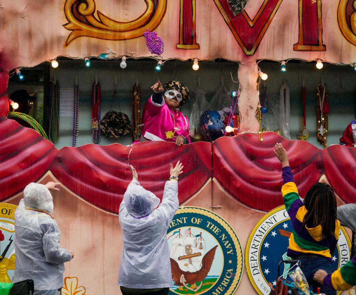 Due to expected weather, Saturday afternoon Mardi Gras parades in