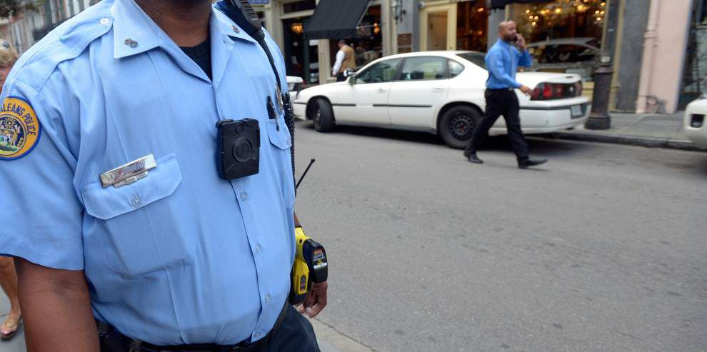 Federal judge presses NOPD on use of body, car cameras _lowres