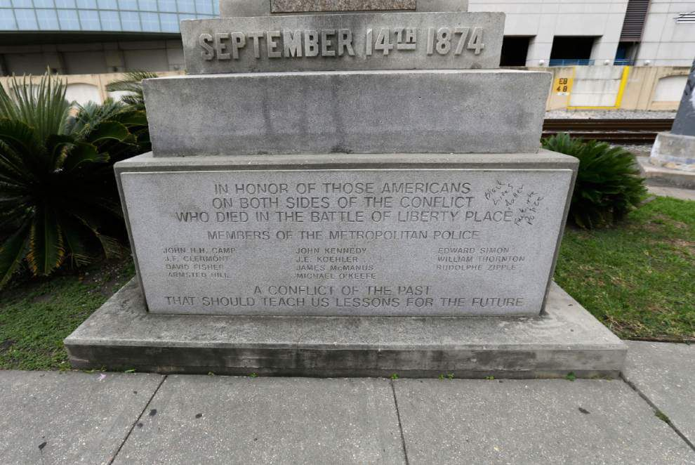 Tighter rules set for final debate Thursday on Confederate monuments in New Orleans _lowres