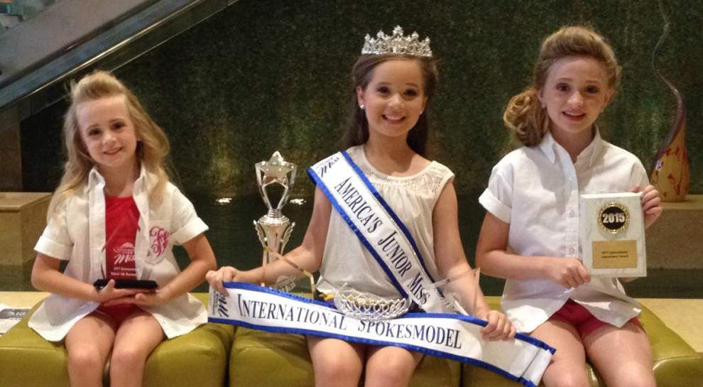 Five local girls compete for International Junior Miss titles _lowres