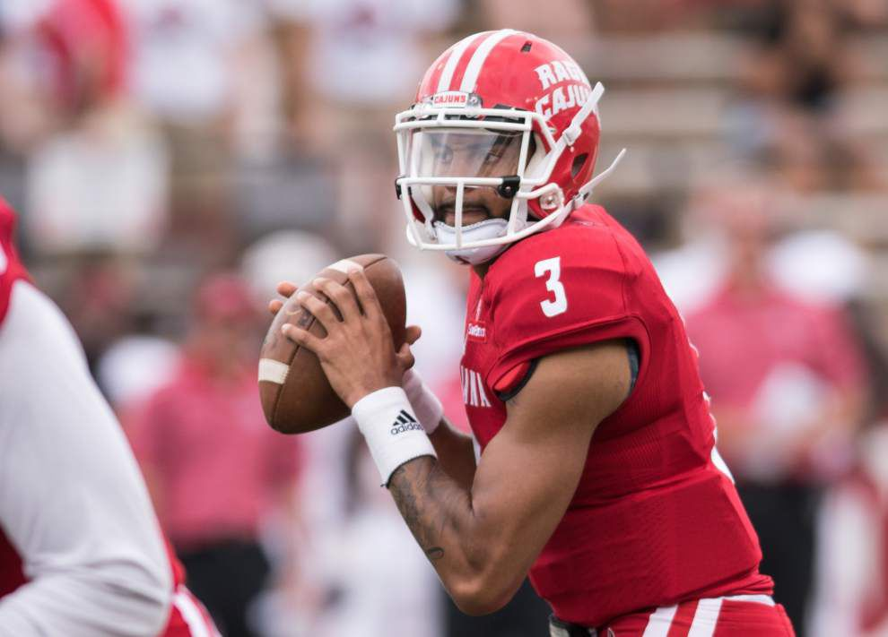 Luke Johnson: Cajuns' offense vanilla for spring game — exactly how Mark Hudspeth wanted it _lowres