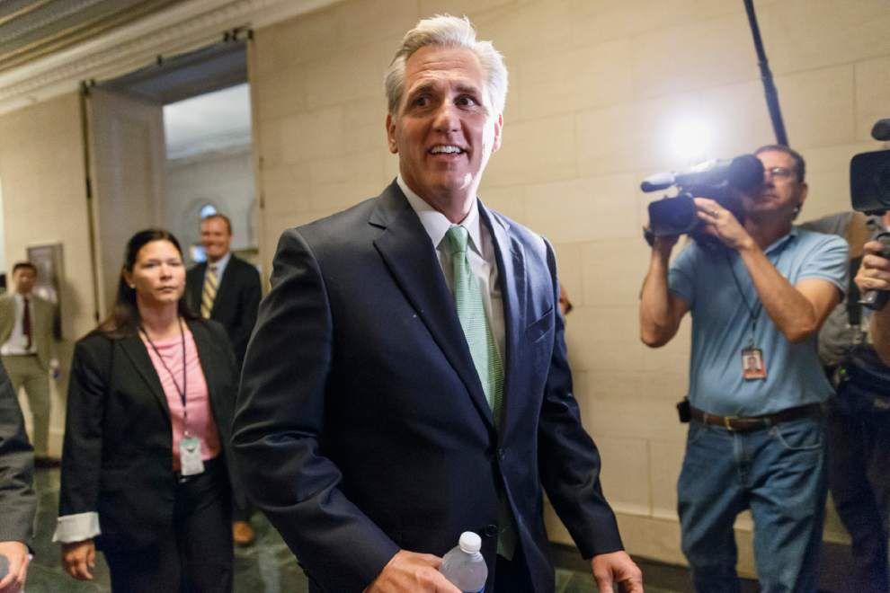 GOP Rep. McCarthy elected House majority leader _lowres