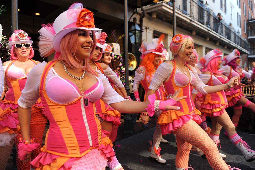 Ask Arthur Hardy: Bring on the ladies of Mardi Gras _lowres