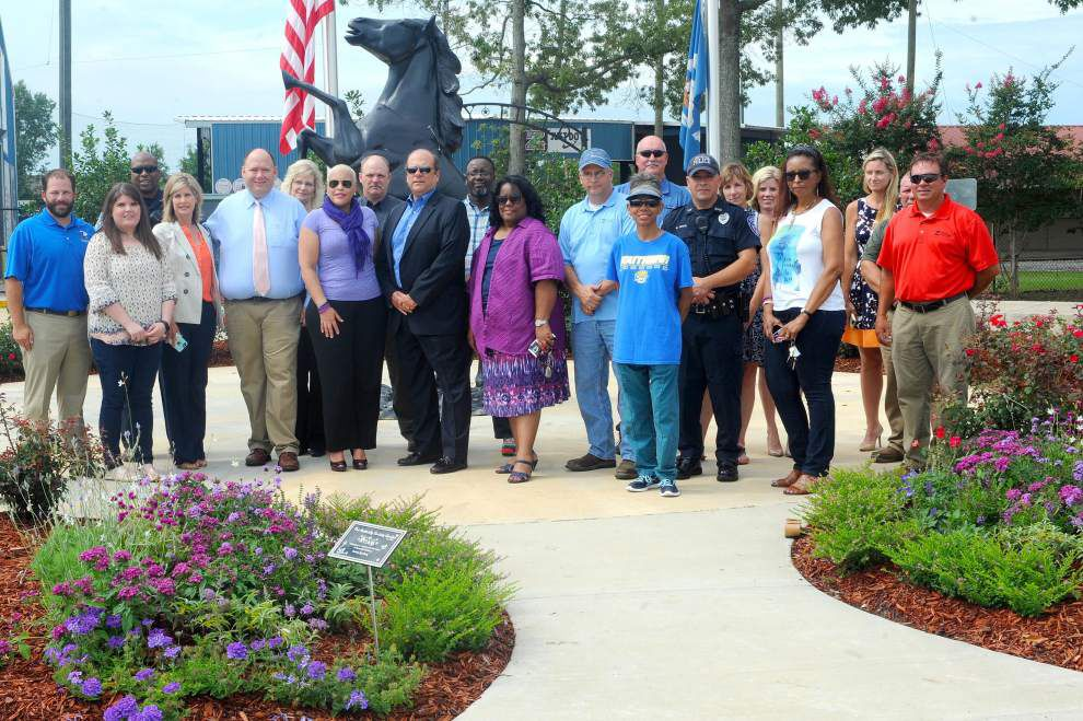 Butterfly garden honors survivors of violence _lowres