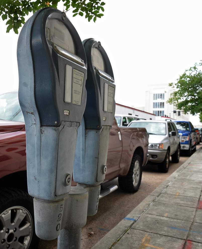 Consultant envisions high-tech parking meters as one way to finance improved downtown parking in Baton Rouge _lowres