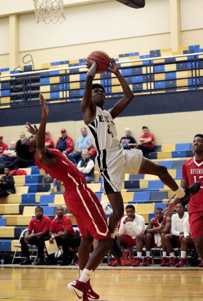 Herb McGee leads Riverside past East St. John and to Holy Cross Tony Rodi Basketball Classic title _lowres